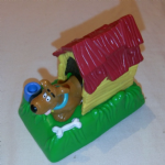 Scooby Doo in Dog Kennel toy  Burger King Premium Toy Figure from 1996 @sold@
